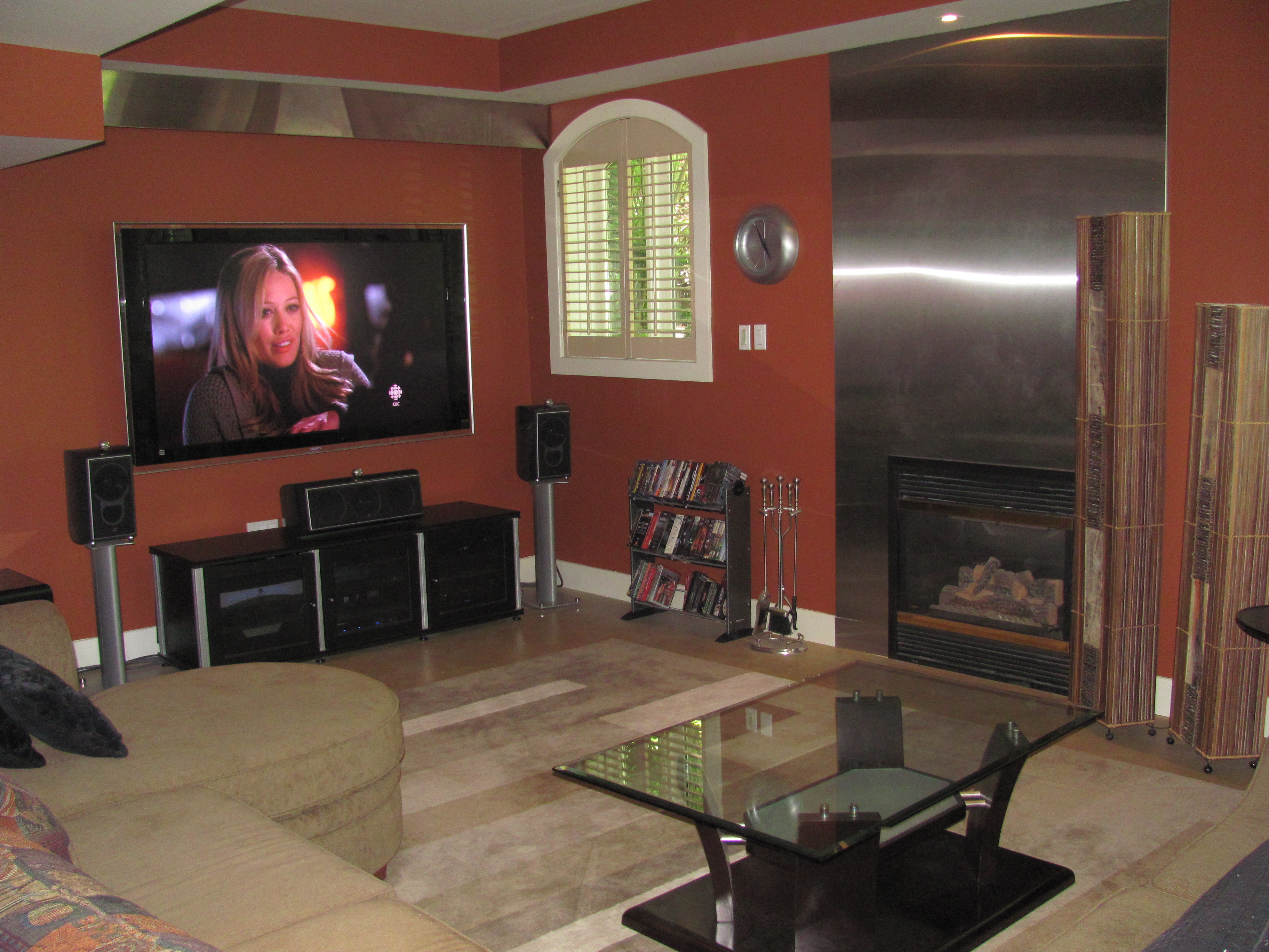 chipkar real estate mississauga stainless fire place walk
